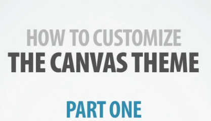 A quick video overview of Canvas